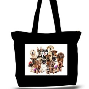 Dog Photo Collage Grovery ote Bag XXXL